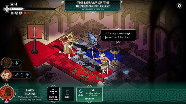 A screenshot of Pendragon