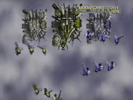 Radiant Silvergun Green-Colorblind Screenshot