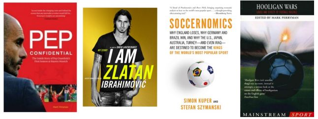 Several cover of the texts on Football (2)