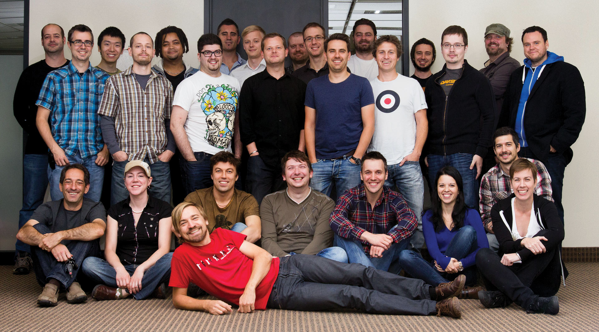 The Square Enix Montreal team as it stands today.