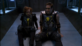 A post-game Mulder and Scully in their VR gear