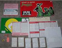 Strat-O-Matic: Paper-based games like this paved the way for D&D and CRPGs.