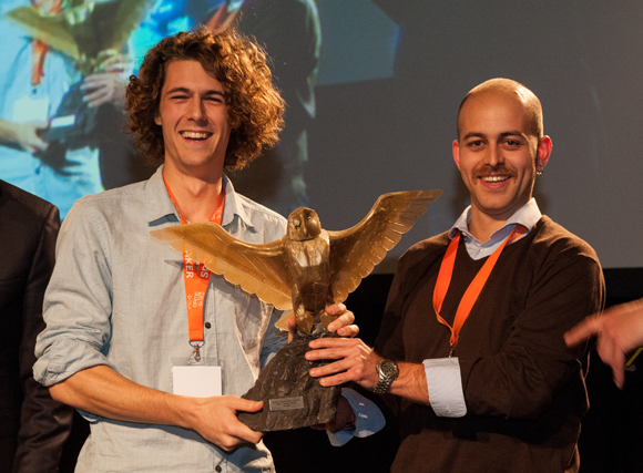 We won the Dutch Game Award for Best Mobile game and Best Casual game