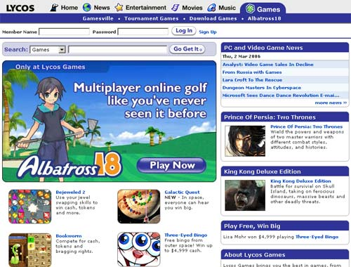 Lycos Games