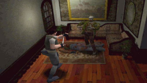Old School survival horror games were our main reference