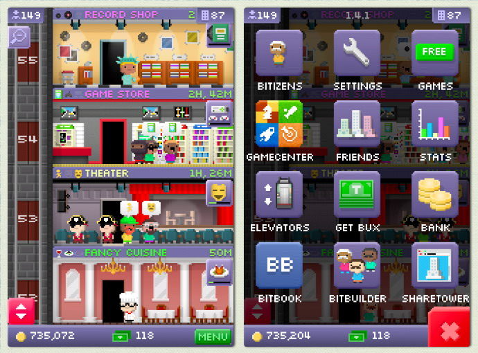 Welcome to Tiny Tower!