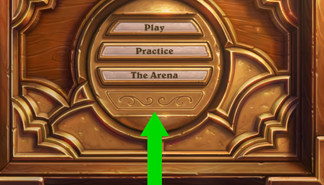 Hearthstone UI extra button
