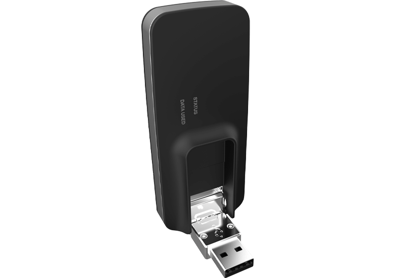 3 usb730L open angle front