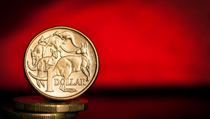 AUDUSD above 72 US cents as rally continues