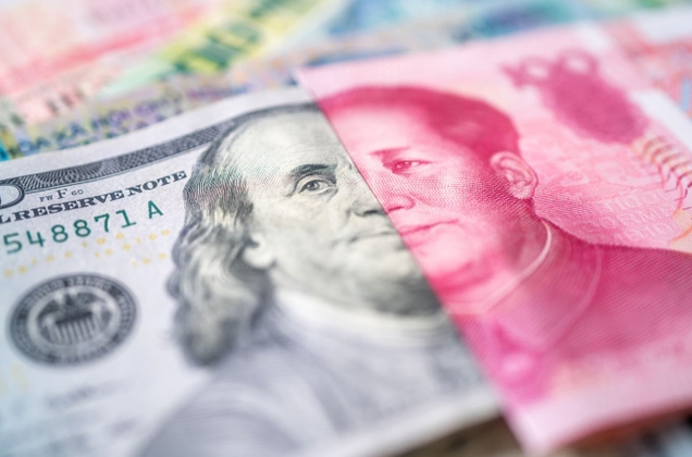 離岸人民幣的三年新高與股市的飆升