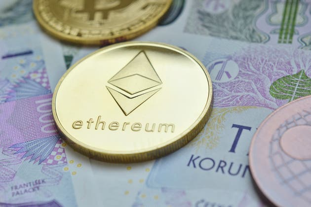 USD and Ethereum finding form