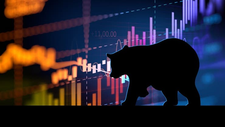 Sentiment sours as the S&P 500 tests key support