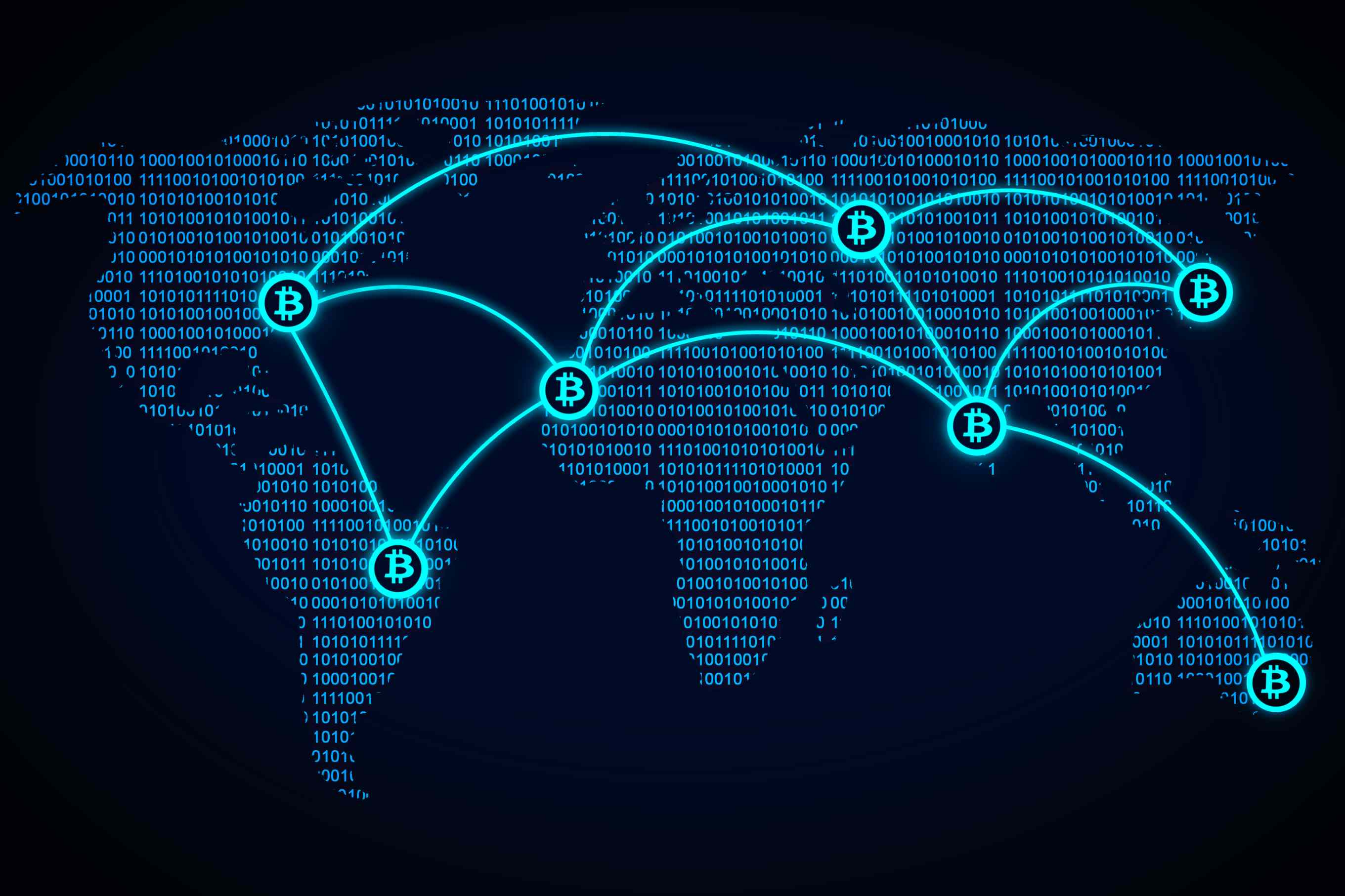 Mapa Bitcoin