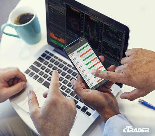cTrader is intuitive and easy to use