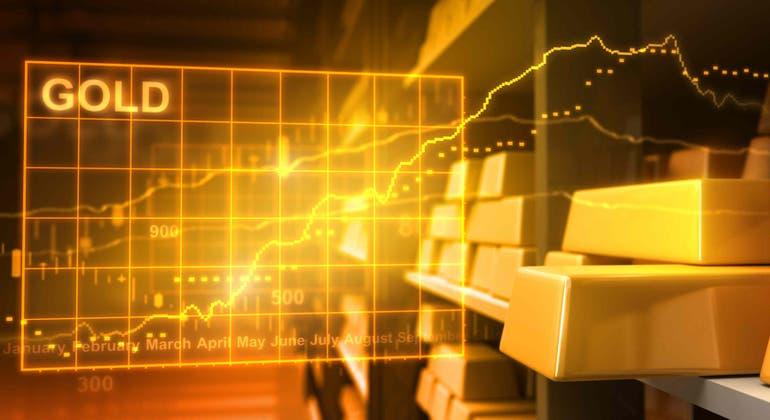 Precio del oro reacciona al alza tras toma de precauciones por incrementos de COVID-19