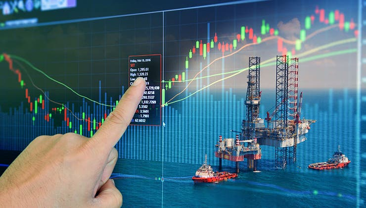 What exactly is the spot crude market?