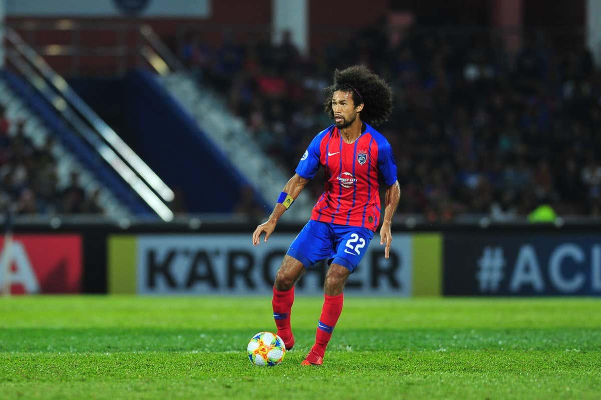 La'Vere Corbin-Ong, Johor Darul Ta'zim v Gyeongnam, AFC Champions League