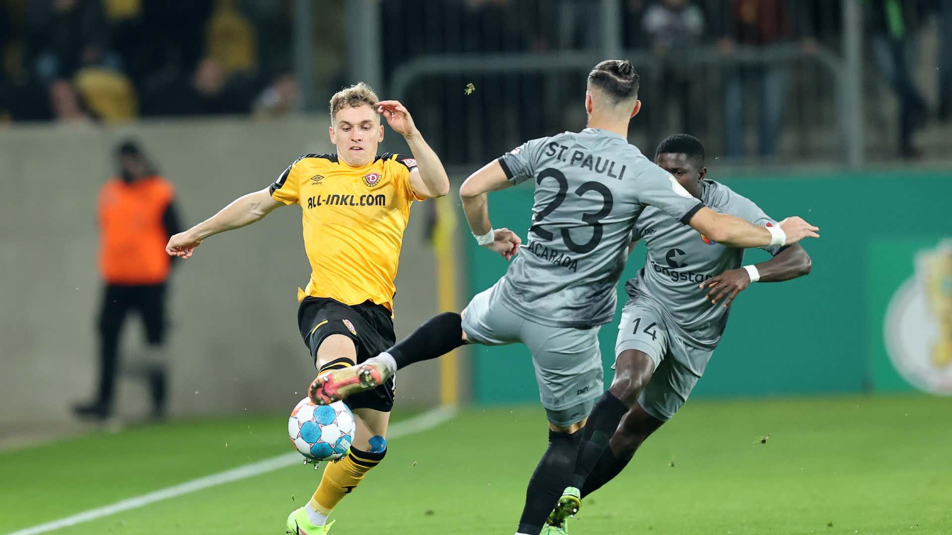 Dynamo Dresden vs. FC St. Pauli live: Der DFB-Pokal zum Nachlesen | Goal.com