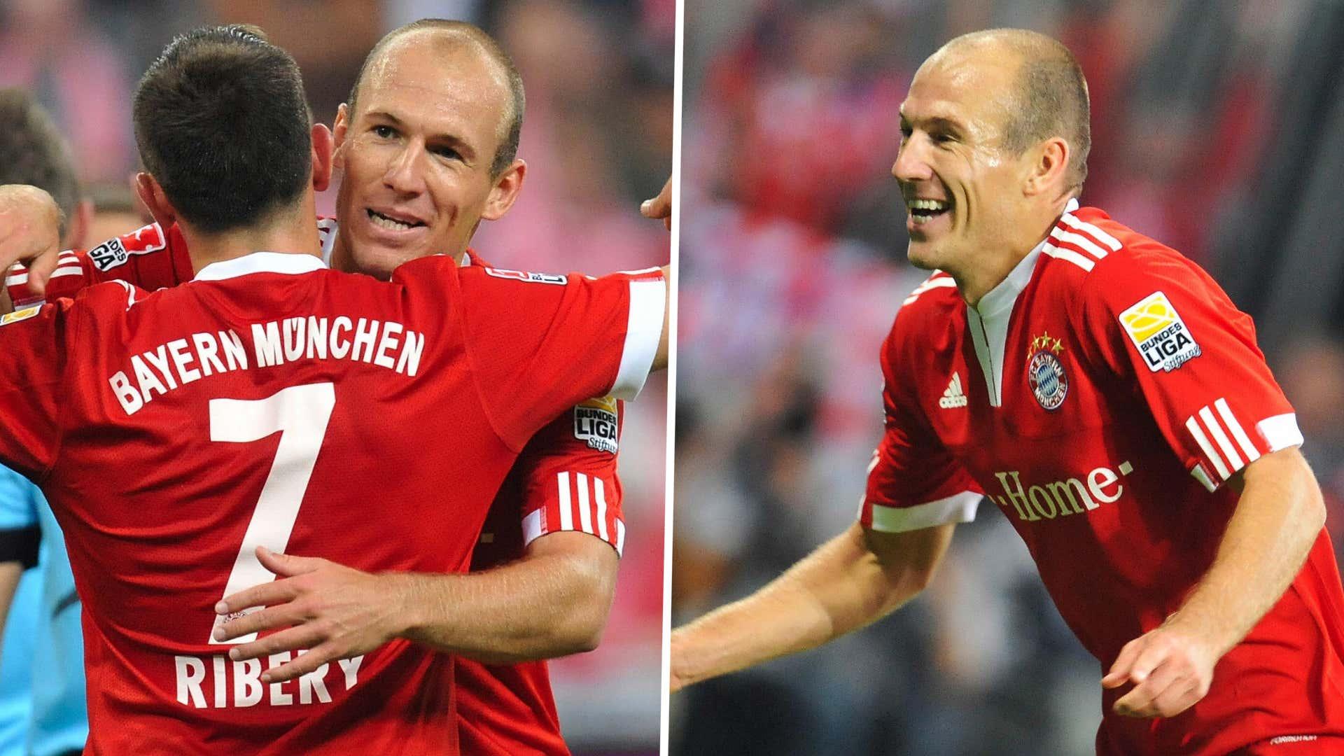 GFX Franck Ribery Arjen Robben Bayern Wolfsburg 2009