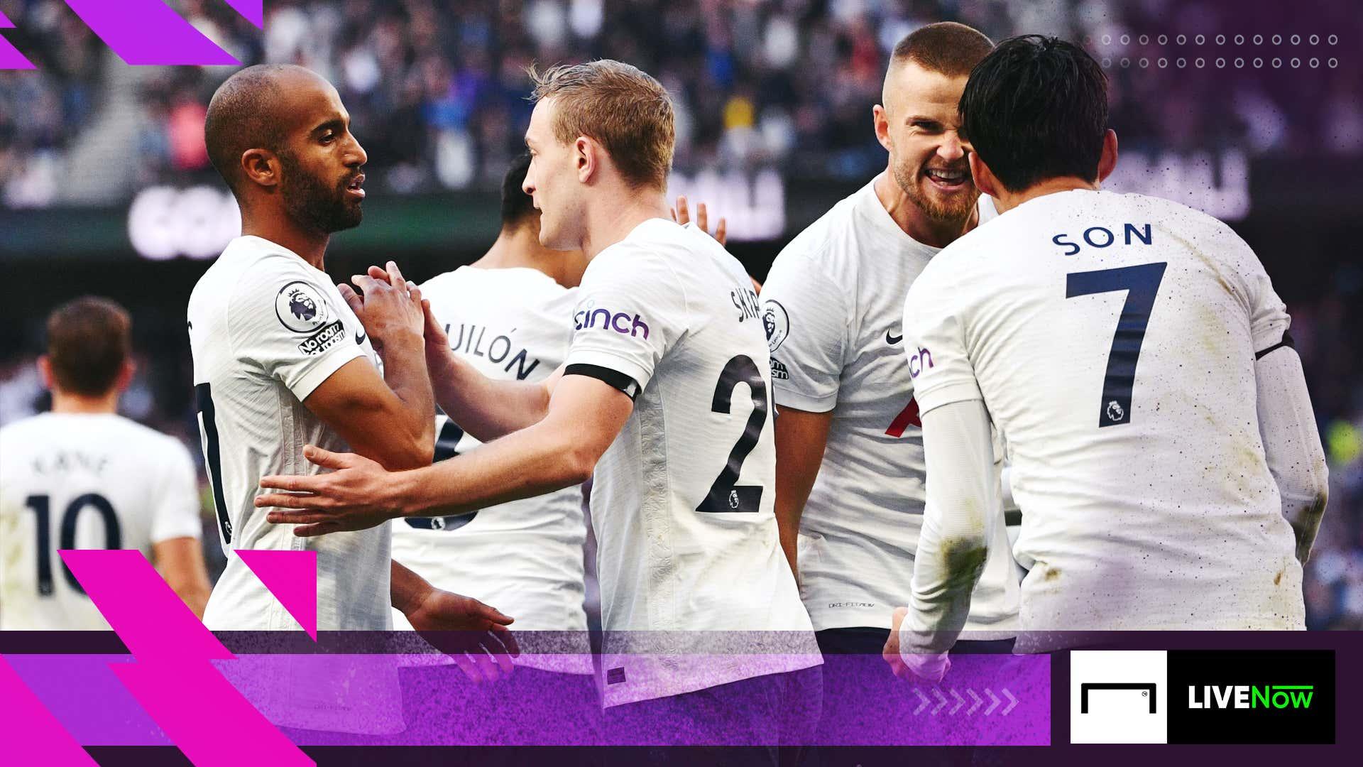 Watch West Ham vs Tottenham Hotspur on LIVENow