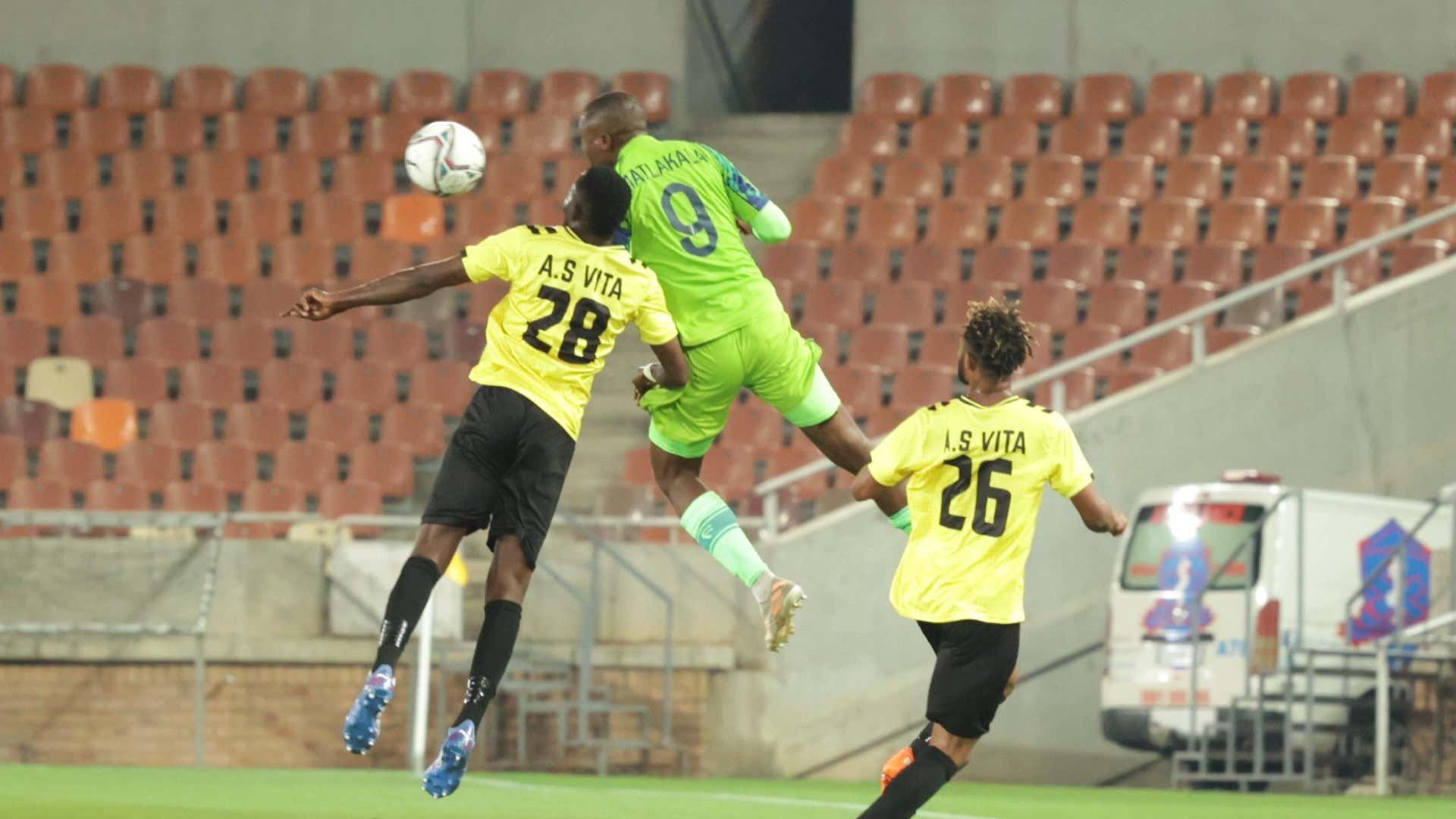 Caf Confederation Cup: Ngema's brace enough for Marumo Gallants to silence AS Vita