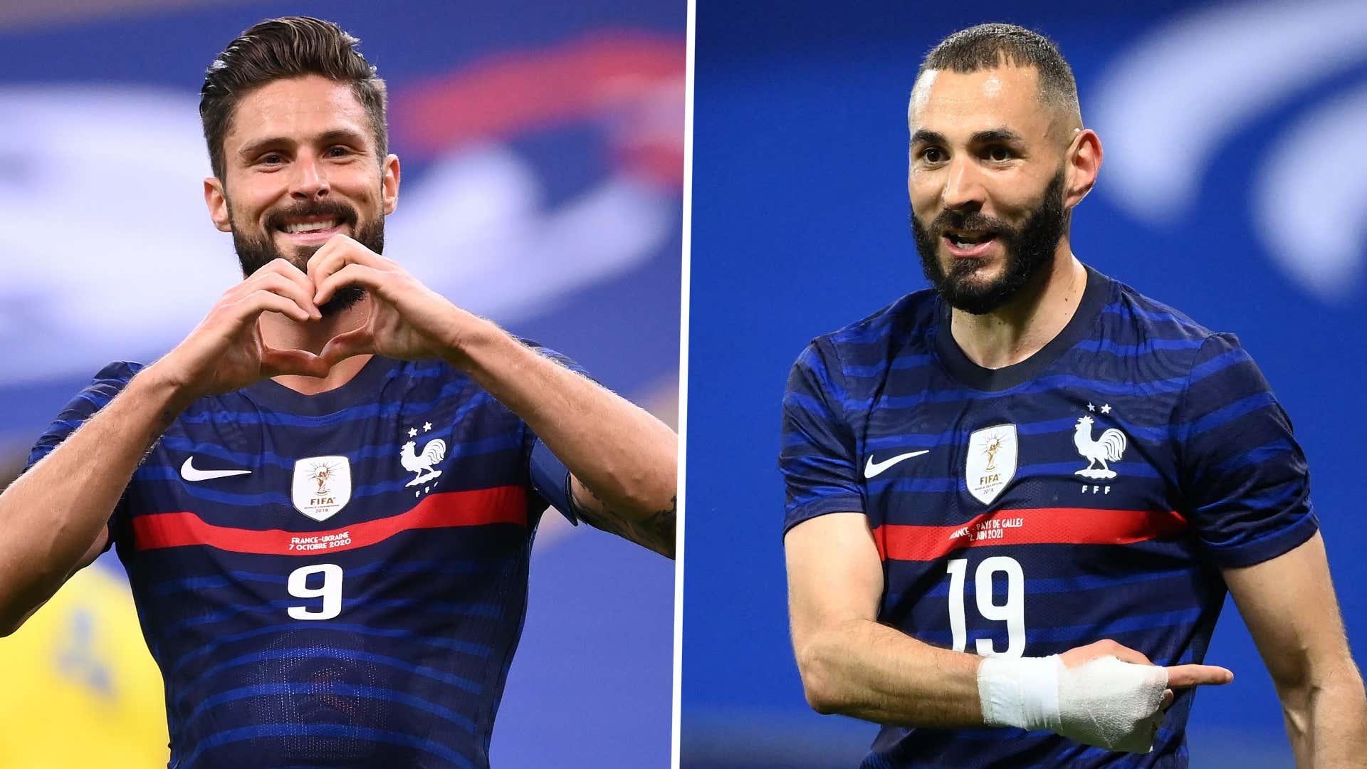 Equipe de France : pour Giroud, Benzema est responsable de l'échec à l'Euro | Goal.com