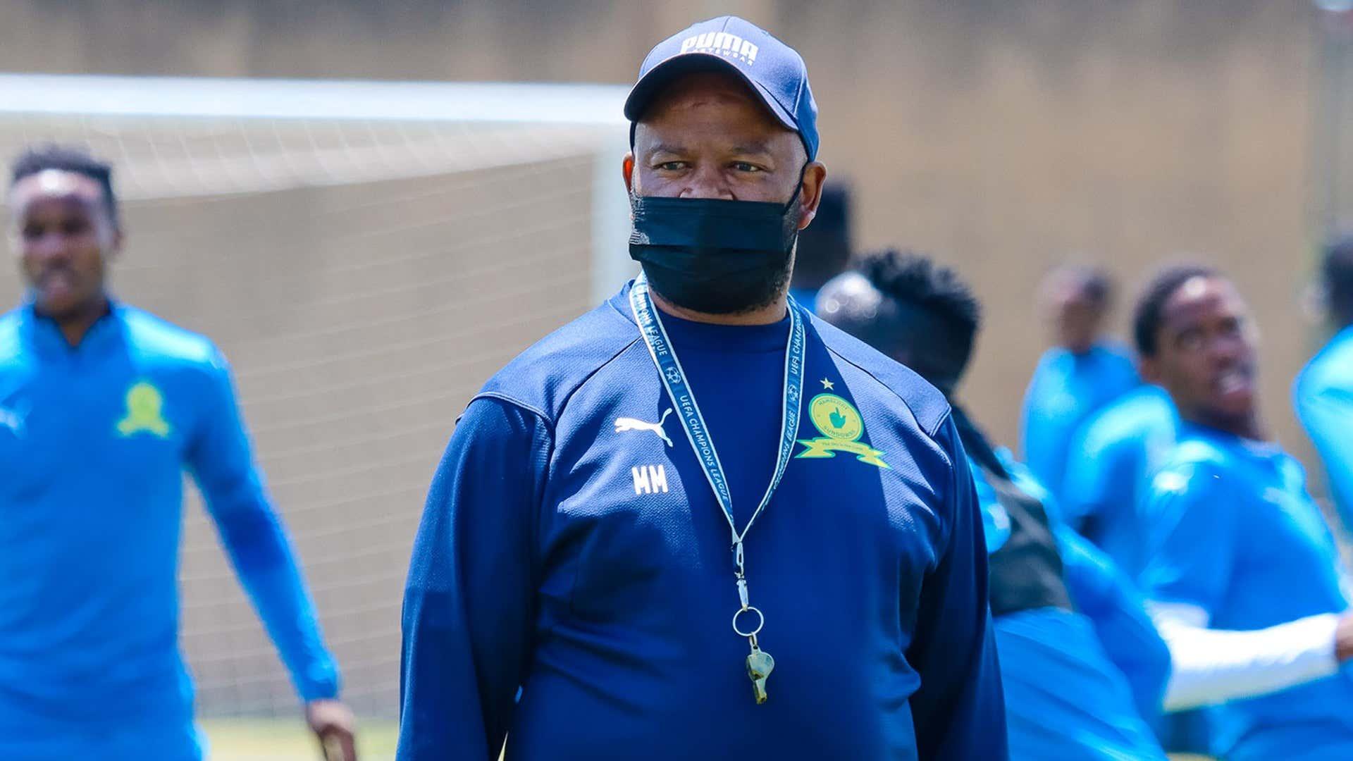 Mamelodi Sundowns coach Manqoba Mngqithi.
