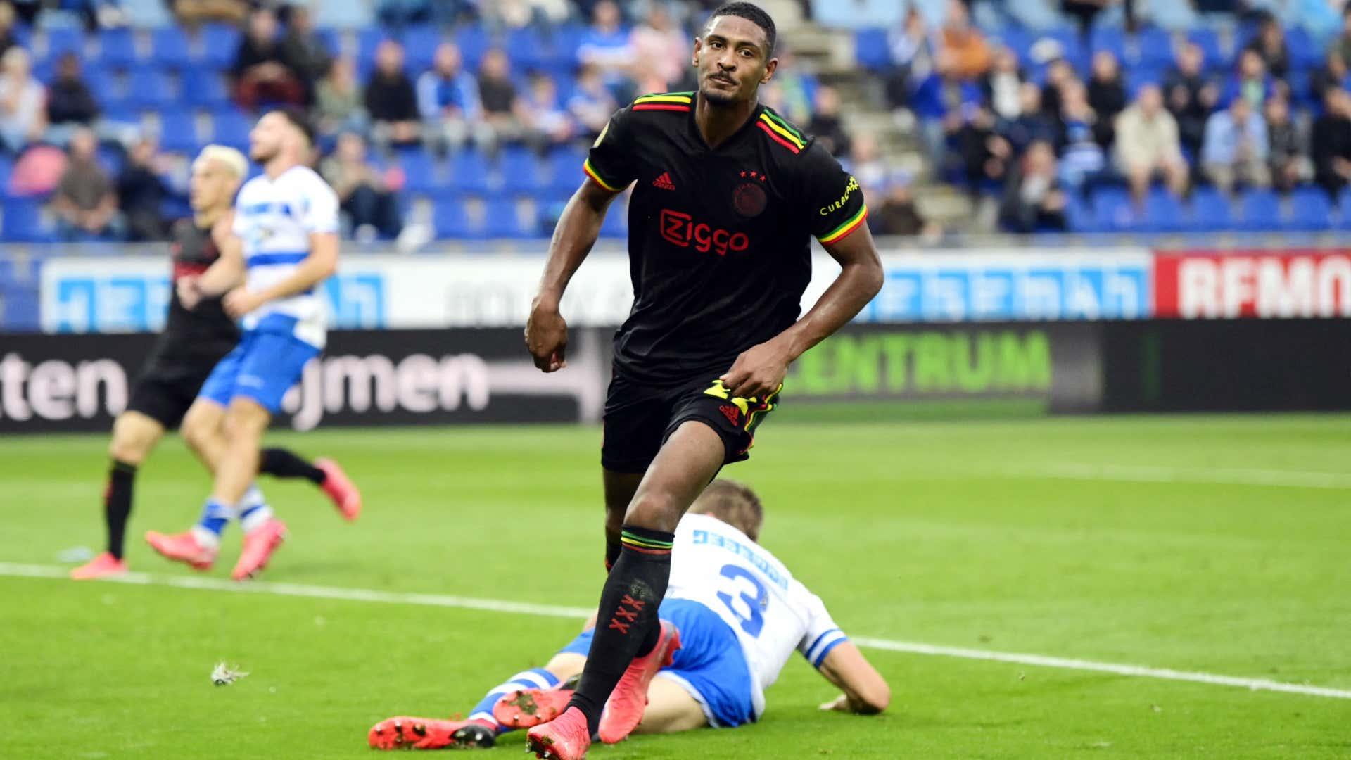 Haller: Cote d'Ivoire forward scores as Kudus returns to Ajax line-up