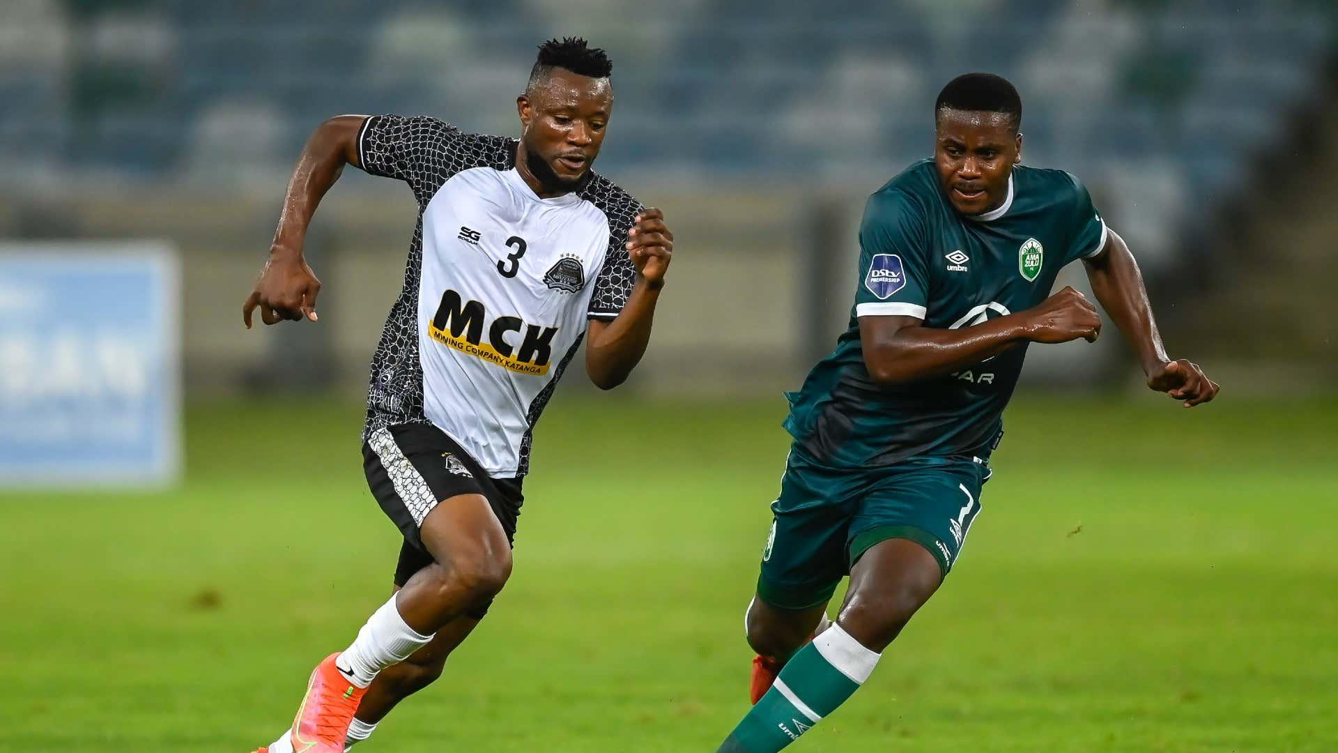 Tandi Mwape, TP Mazembe & Bonginkosi Ntuli, AmaZulu FC, October 2021