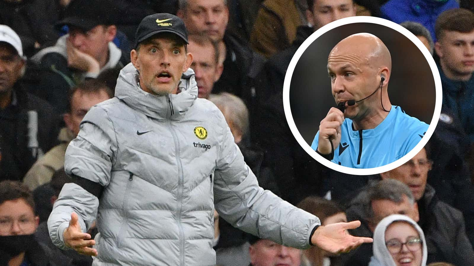 Tuchel laughs off Chelsea supporters' petition against referee Taylor