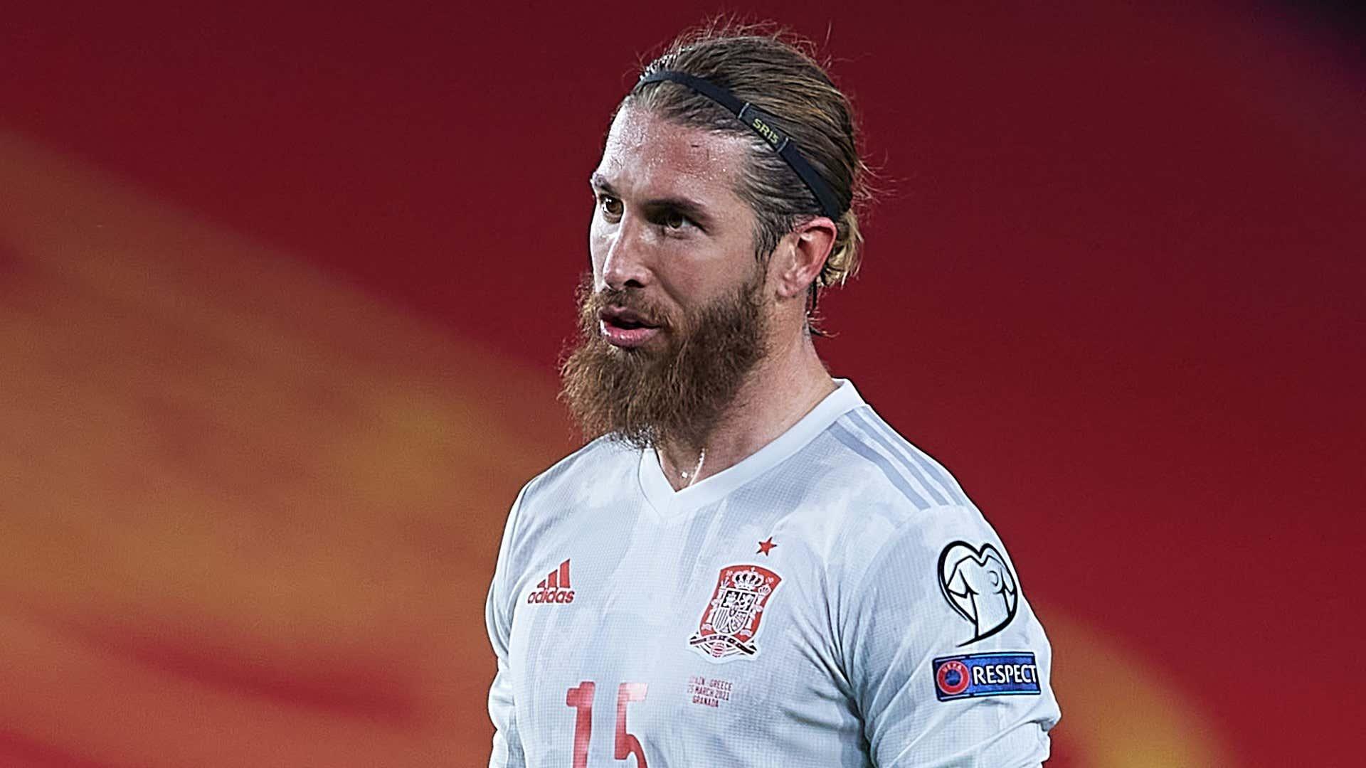 Sergio Ramos Spain 2021