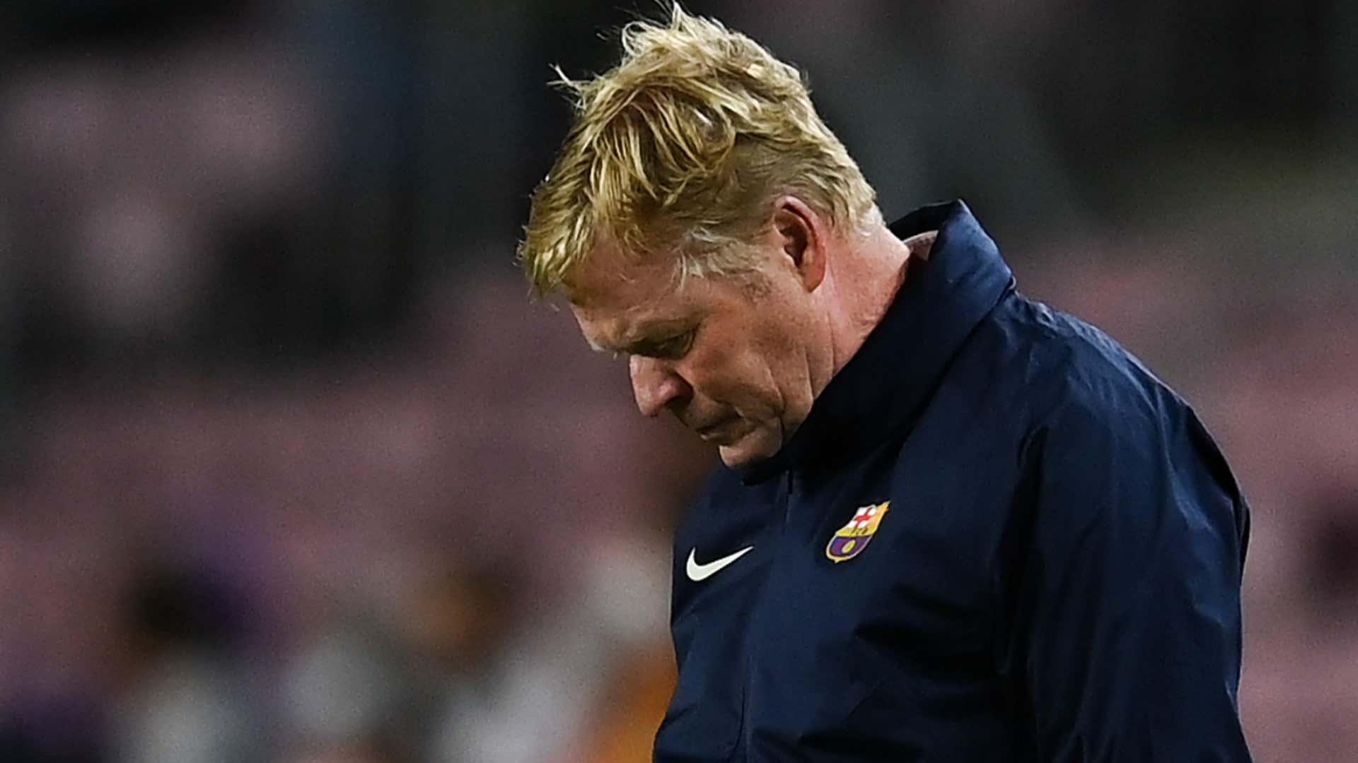 Unzufriedene Barca-Fans gehen Ronald Koeman nach Clasico-Pleite an | Goal.com