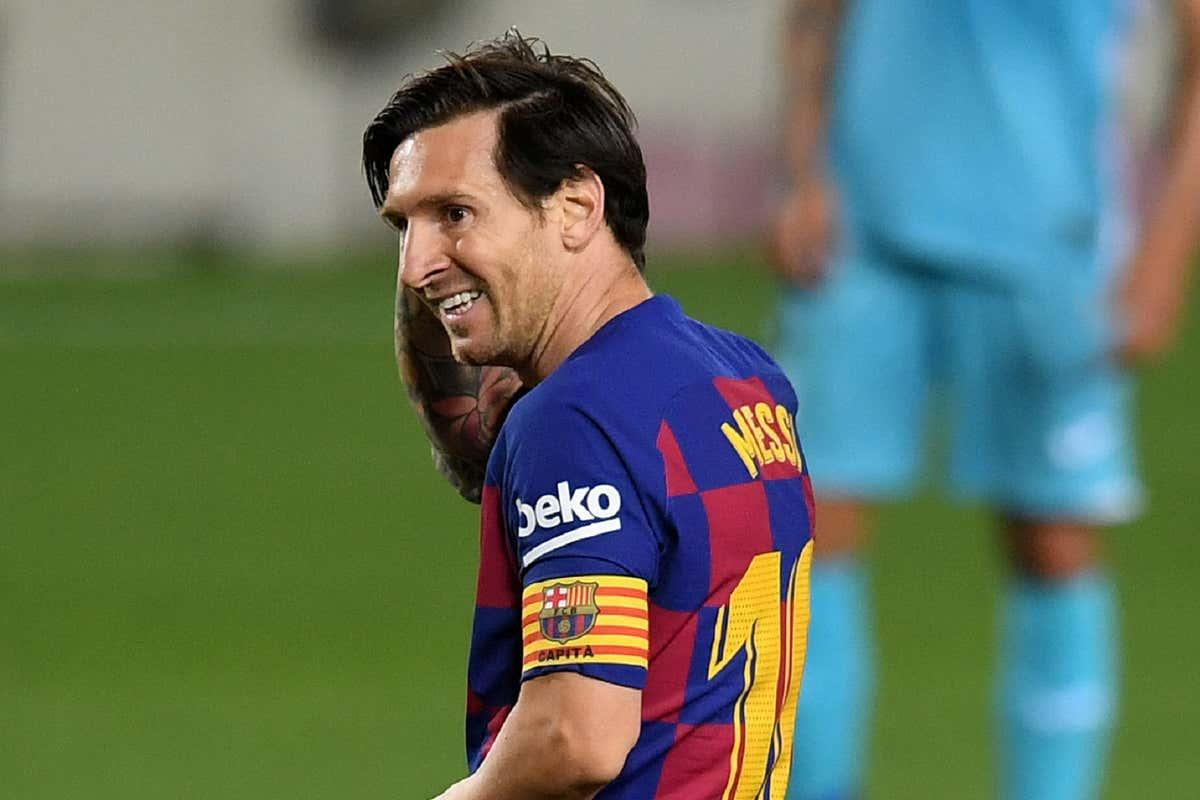 Lionel Messi Barcelona 160602020
