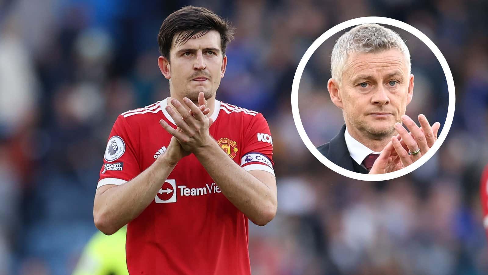 Solskjaer explains surprise Maguire selection in Man Utd meltdown vs Leicester