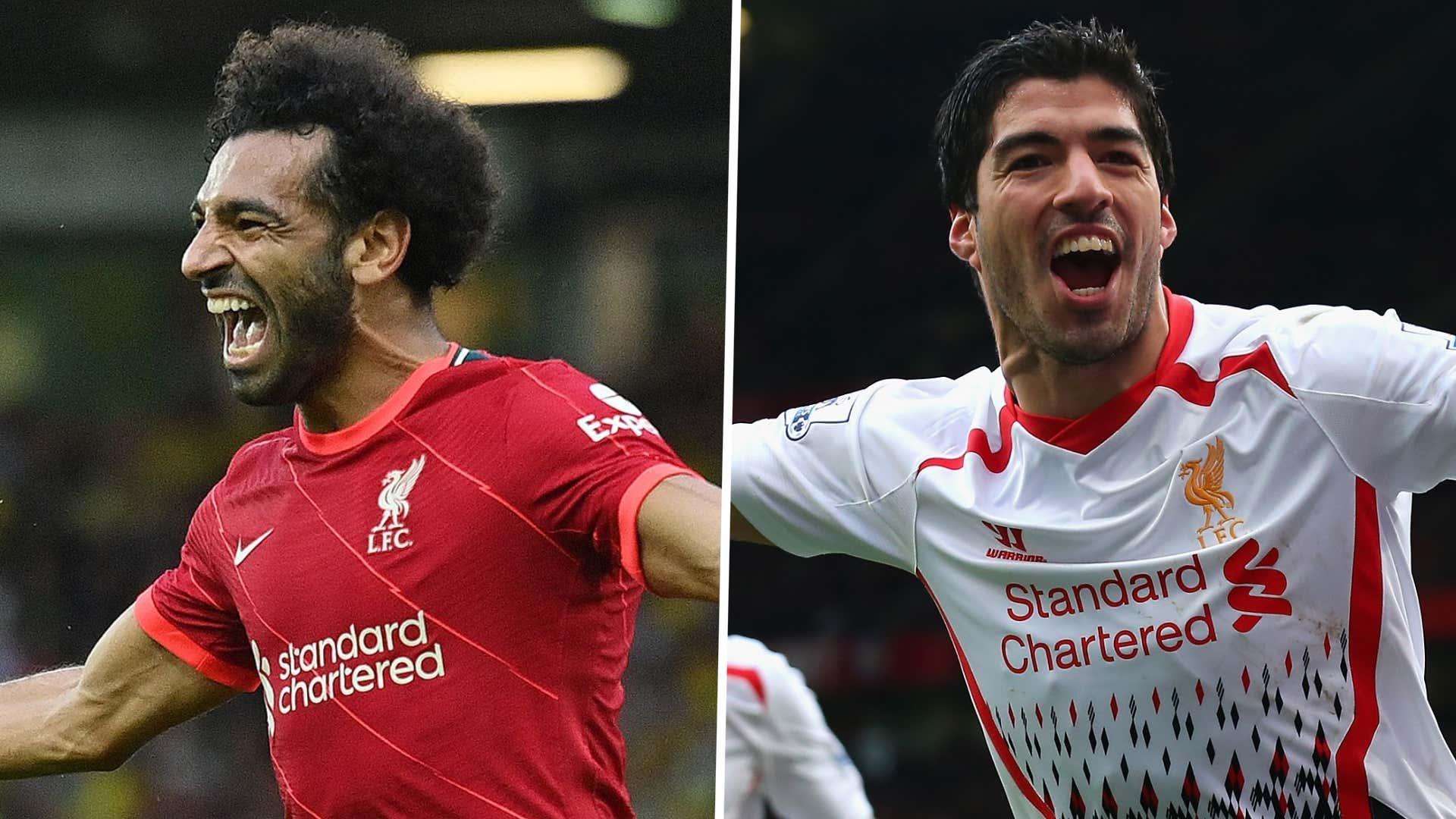 Prime Salah or Prime Suarez? Only one winner as Liverpool legends prepare for Champions League showdown | Goal.com
