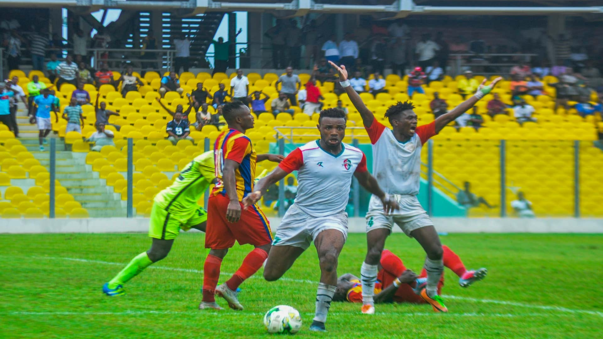 Caf Champions League: Hearts of Oak midfielder Nettey opens up on ambitions for WAC showdown