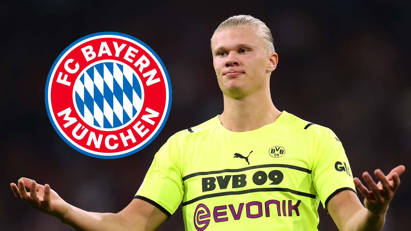 """""""Das ist ja eine Maschine, Alter"""": Bayern-Sportvorstand Hasan Salihamidzic schwärmte von BVB-Stürmer Erling Haaland   Goal.com"""