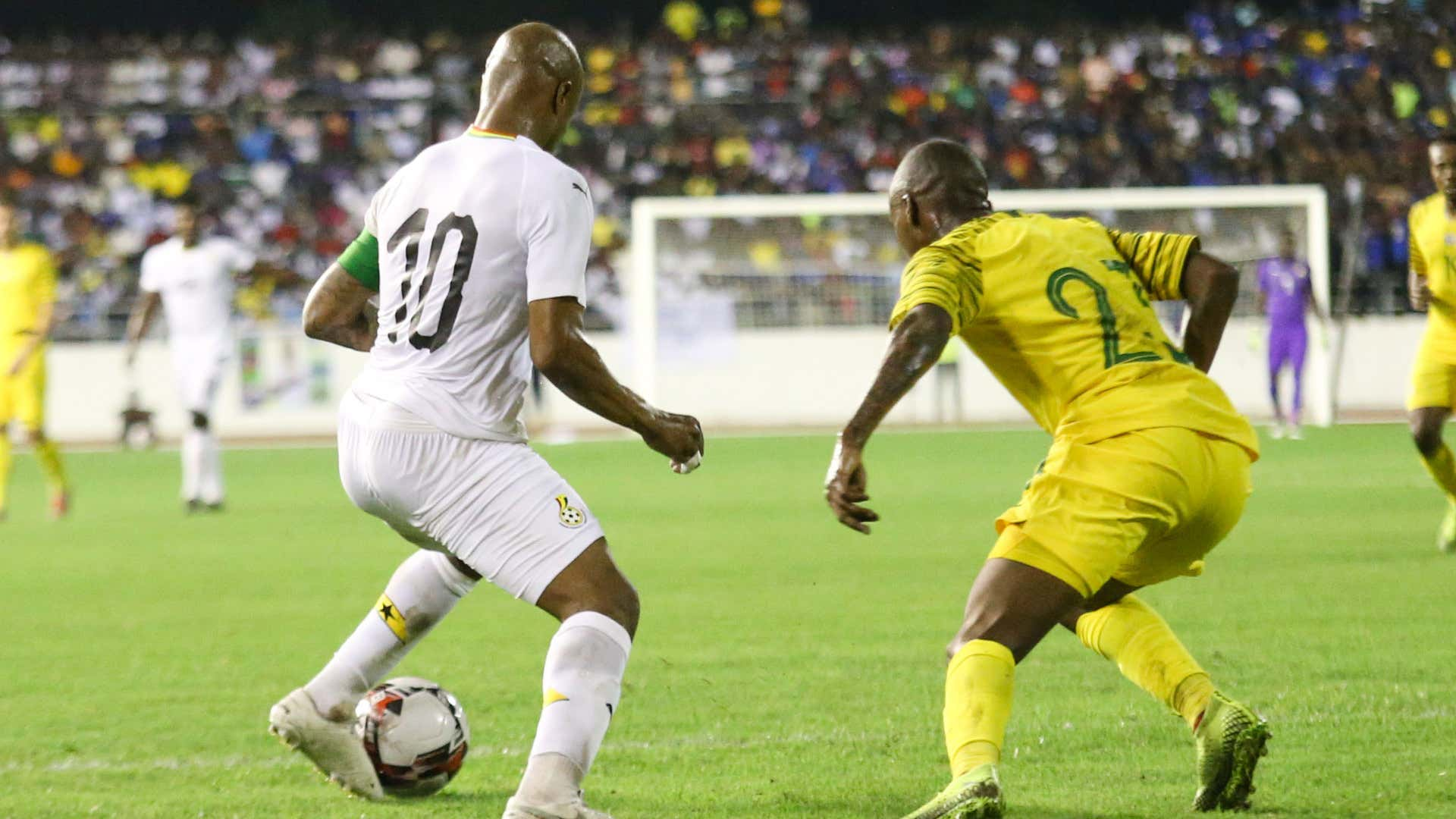 Sarpong: Ghana and South Africa will take World Cup qualification battle to the wire
